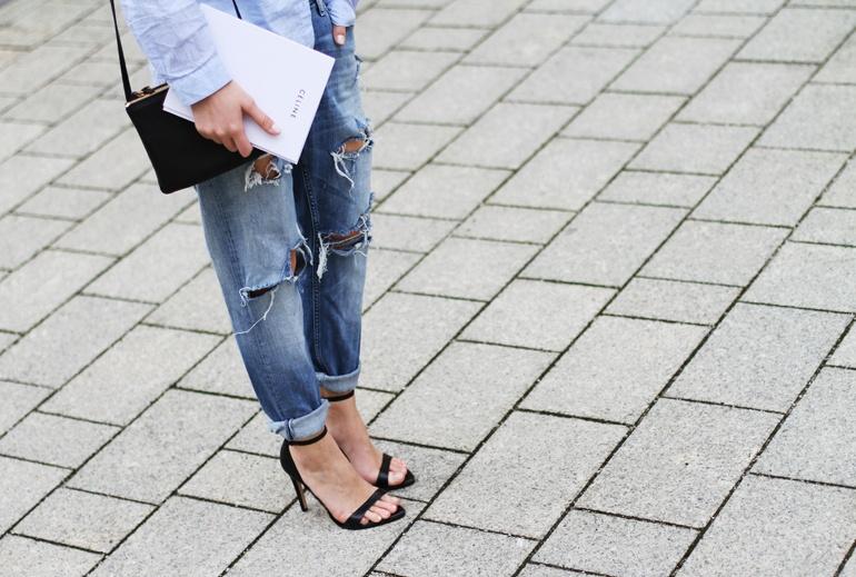 Peta Jensen Ripped Jeans