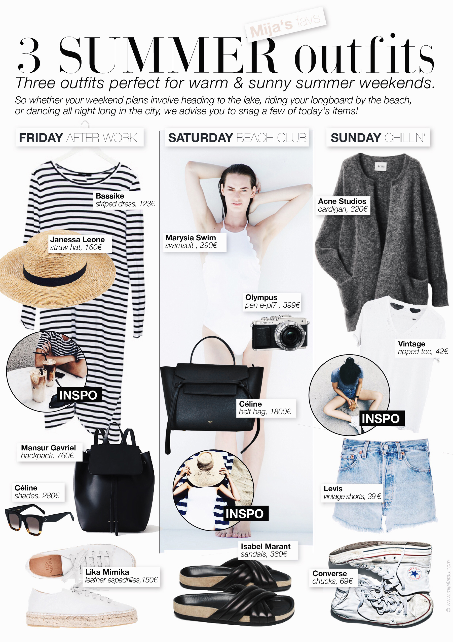 b3245445a2d 3 OUTFITS FOR SUMMER WEEKENDS - Mija