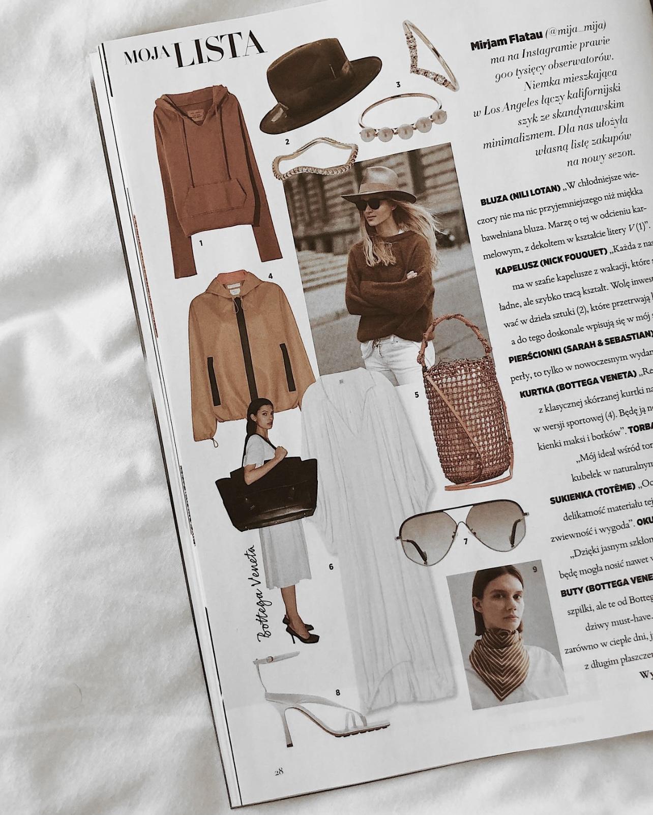 Harper' Bazaar October issue